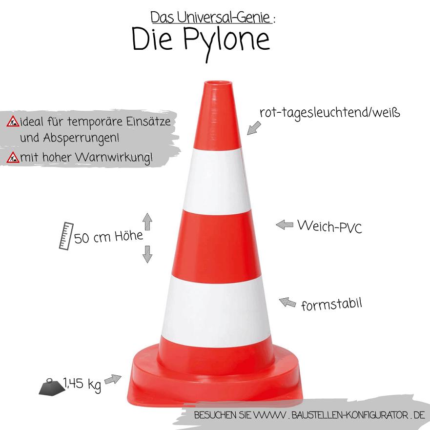 Das Universal-Genie Die Pylone